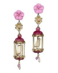 Of Rare Origin | Multicolor Aviary Classic Earrings | Lyst