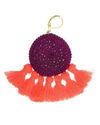 Shashi - Multicolor Lena Tassel Earrings - Lyst