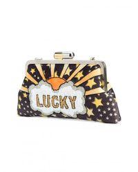Sarah's Bag - Multicolor Lucky Clutch - Lyst