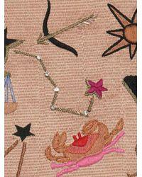 Lizzie Fortunato - Pink Safari Horoscope Clutch - Lyst