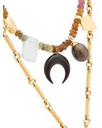 Lizzie Fortunato - Metallic Sahara Charm Necklace - Lyst