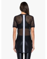 Koral - Hustle Open Mesh Top - Black - Lyst