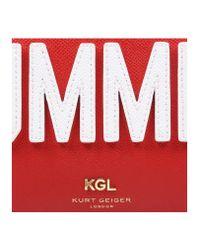 Kurt Geiger - Red New Saff Richmond X Body - Lyst