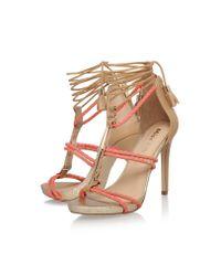 Miss Kg | Multicolor Geranium High Heel Strappy Sandals | Lyst