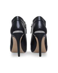 MICHAEL Michael Kors | Clara Open Toe Bootie In Black | Lyst