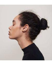 Lady Grey - Metallic Trace Ear Cuff In Gold- Left Ear - Lyst