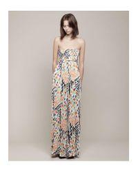 Tsumori Chisato - Multicolor Printed Strapless Jumpsuit - Lyst