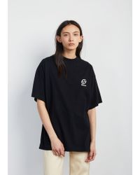 Vetements - Black Cancer Horoscope Tee - Lyst