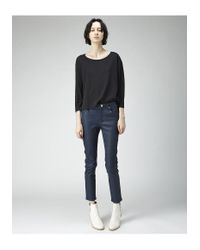 Acne - Black Witkin Tee - Lyst