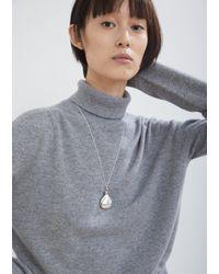 "Sophie Buhai - Metallic Perfume Pendant Necklace L24"" - Lyst"