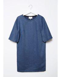 3.1 Phillip Lim - Blue Flare Sleeve Dress - Lyst
