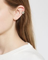 Saskia Diez - Metallic Mighty Ears Earcuff Down - Lyst