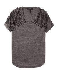 Isabel Marant - Gray Tizy T-shirt - Lyst