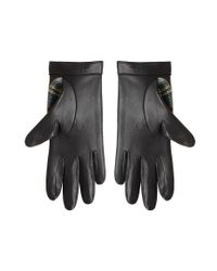Rag & Bone - Black Quilted Driving Gloves - Lyst
