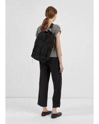 Junya Watanabe - Black Cotton Canvas Patchwork Bag - Lyst