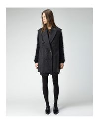 3.1 Phillip Lim - Black Oversized Layered Vest - Lyst