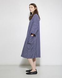Casey Casey - Blue Stripe Dress - Lyst