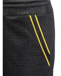 Helen Lee - Black X The Woolmark Company Jersey Cuff Jogging Pants - Lyst