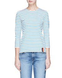 Kule - Blue Stripe Long Sleeve T-shirt - Lyst