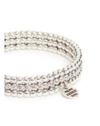 Philippe Audibert - Metallic 'meryl' Swarovski Crystal Bead Elastic Bracelet - Lyst