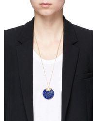 W. Britt - Blue 'circle' Lapis Pendant Necklace - Lyst