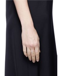 Anabela Chan - Multicolor 'orion' Diamond 9k Rose Gold Ring - Lyst