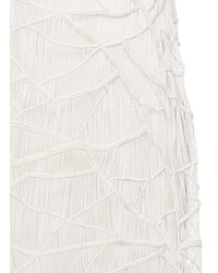 The Row - Natural 'tanan' Cotton Lattice Knit Dress - Lyst