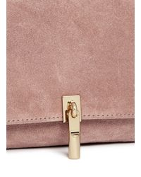 Elizabeth and James - Multicolor 'cynnie' Micro Suede Crossbody Bag - Lyst