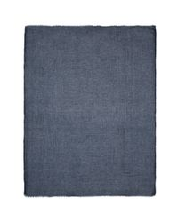 Faliero Sarti - Blue 'toto' Modal-linen Scarf for Men - Lyst