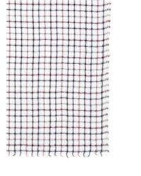 Faliero Sarti - Multicolor 'brooke' Cotton-linen Check Plaid Scarf - Lyst