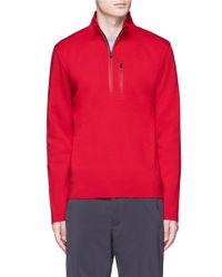 Aztech Mountain - Red 'matterhorn' Half Zip Sweater for Men - Lyst