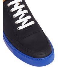 Harry's Of London - Blue 'mr Jones 2' Contrast Sole Sneakers - Lyst