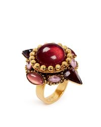 Erickson Beamon | Pink 'hunky Dory' Cabochon Ring | Lyst