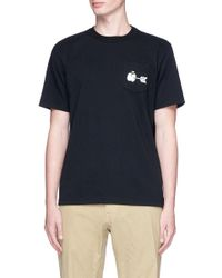 Sacai | Multicolor Apple Arrow Print T-shirt for Men | Lyst