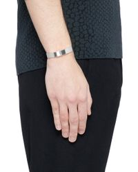 Le Gramme - Metallic 'le 33 Grammes' Polished Sterling Silver Cuff - Lyst