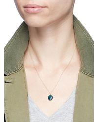 Astley Clarke - Metallic 'opal Uranus' Diamond 14k Yellow Gold Pendant Necklace - Lyst