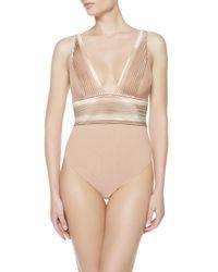 La Perla | Pink Body Suit | Lyst