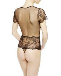La Perla | Black Bodysuit | Lyst