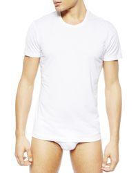 La Perla   White New Crew-neck T-shirt for Men   Lyst
