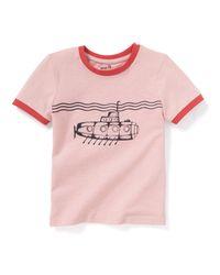 "LA REDOUTE - Pink T-shirt, Bedruckt ""u-boot"", 3-12 Jahre for Men - Lyst"