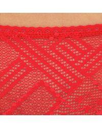 DIM | Red Sublim Trendy Stretch Lace Briefs | Lyst