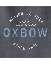 Oxbow | Gray Tanker Printed T-shirt for Men | Lyst
