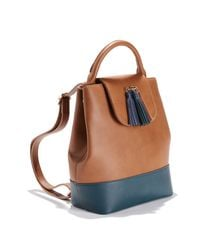 LA REDOUTE - Multicolor Two-tone Backpack - Lyst
