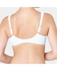 Triumph - White True Shape Sensation Minimiser Bra - Lyst
