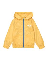 LA REDOUTE - Yellow Hooded Zip-up Windcheater, 3-12 Years - Lyst