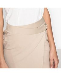 LA REDOUTE - Natural Wrapover Skirt - Lyst
