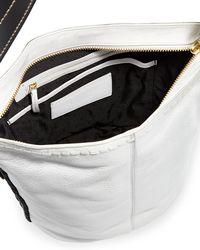 Cole Haan - White Loralie Whipstitch Bucket Shoulder Bag - Lyst