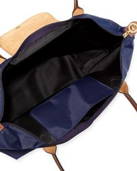 Longchamp - Blue Le Pliage Large Shoulder Tote Bag - Lyst