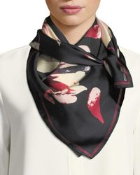 Vince Camuto - Multicolor Flying Petals Floral Scarf - Lyst