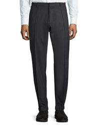 Armani - Gray Techno Stretch Jogger Trousers for Men - Lyst
